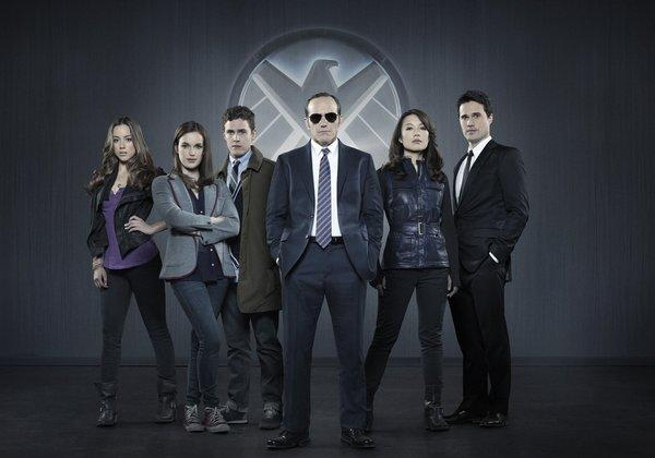 "The cast of ""Marvel's Agents of S.H.I.E.L.D."""