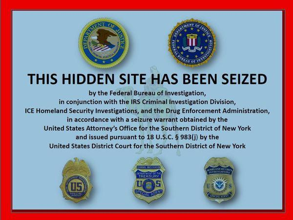 The Justice Department seized the hidden Silk Road website and arrested its alleged owner.