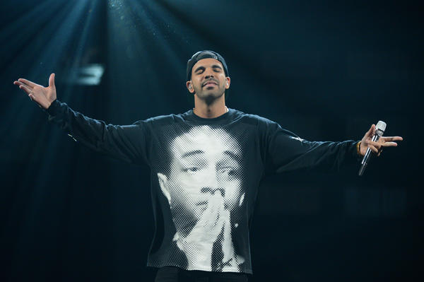 "Drake, seen performing at the iHeartRadio Music Festival, entered the Billboard 200 this week at No. 1 with his album ""Nothing Was the Same."""