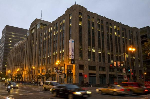 twitter office san francisco. Twitter Is Reportedly Negotiating To Lease A 320,000-square-foot Office  Next Its Twitter San Francisco