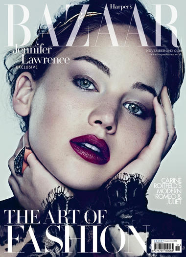 Jennifer Lawrence - Harper's Bazaar UK