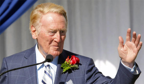 "Vin Scully says he hasn't decided whether he'll retire after next season. ""It all boils down to come July or August, how I feel physically,"" Scully says."