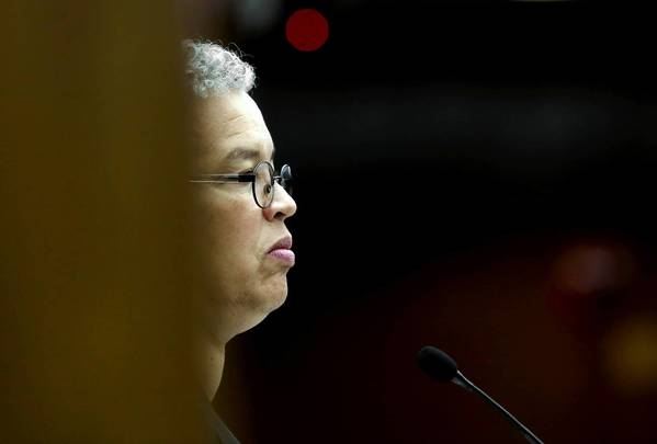 "Cook County Board President Toni Preckwinkle cited a societal cost to mandatory minimum sentences. ""All of these people, you know, unless we send them to jail for life, they eventually return to our communities,"" she said. ""And the longer they stay in prison, the less employable and the more problematic their future outcome."""