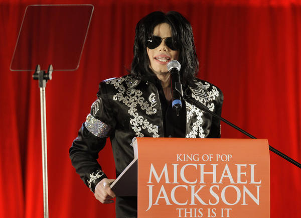 Michael Jackson in March 2009. Will the spotlight ever return to the superstar's musical legacy?