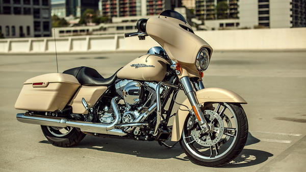 The Harley-Davidson Street Glide is a technologically advanced version of a good old-fashioned American road warrior.