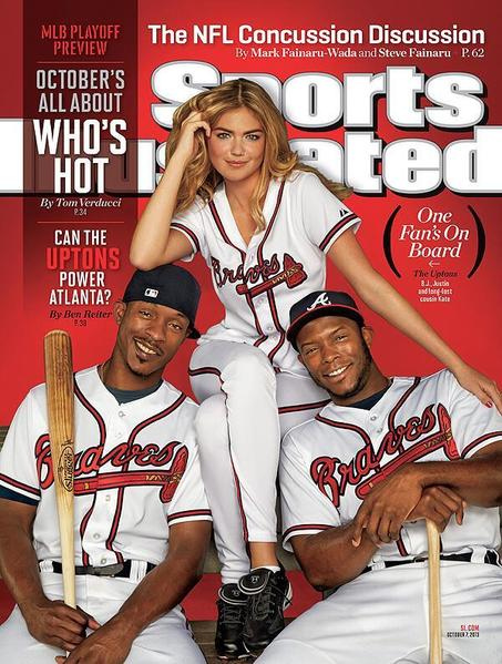 Sports Illustrated's all-Upton cover.