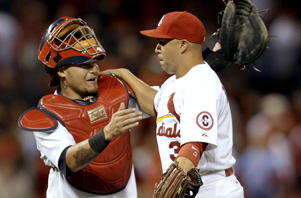 Catcher Yadier Molina and slugger Carlos Beltran help make the Cardinals a tough team to beat in the playoffs.