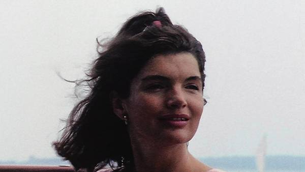 "Jackie Kennedy in the documentary ""Letters to Jackie: Remembering President Kennedy."""
