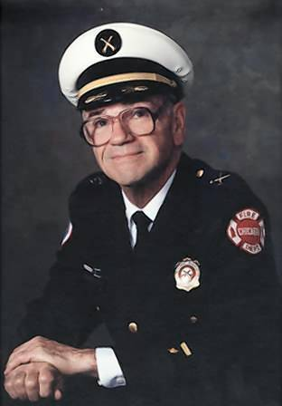 Ronald DiRenzo joined the Chicago Fire Department in early 1965. He was promoted to lieutenant in 1971 and captain in 1974. In 1979 he became a battalion chief, the rank he held until his retirement in 1993.