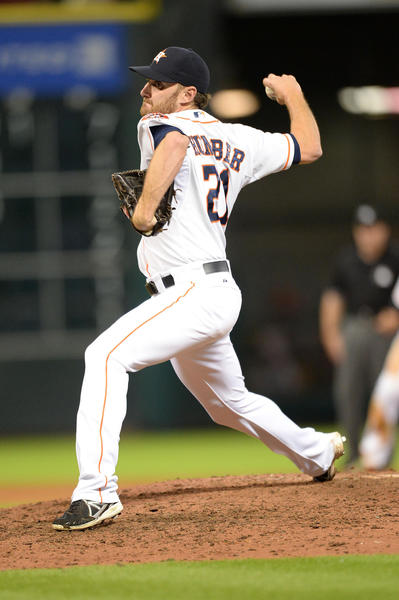 Astros starting pitcher Philip Humber.
