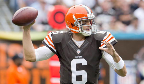 Since taking over starting quarterback position in Cleveland, Brian Hoyer has connected with his Browns receivers for 590 yards and five touchdowns with three interceptions in two wins.