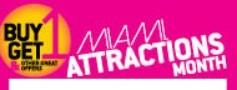 Miami Attractons Month