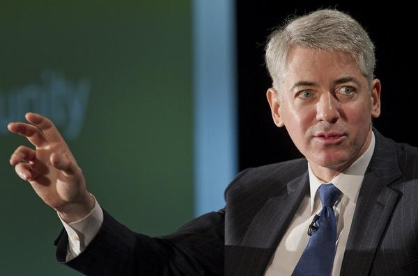 Bill Ackman is founder and chief executive of hedge fund Pershing Square Capital Management.