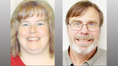 Carol Ochs (left) and Larry Sullivan are running for election to the post of Charlevoix City Clerk in the Nov. 5 city election.