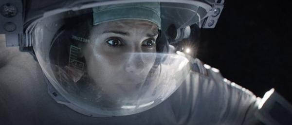 "Sandra Bullock stars in ""Gravity,"" which will probably be the No. 1 film at the box office this weekend."