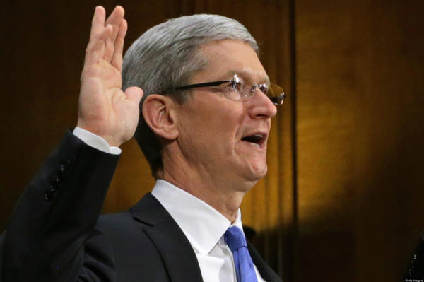 Apple CEO Timothy Cook testified before the Senate Homeland Security and the Senate Governmental Affairs Committee's Investigations Subcommittee in May about the company's offshore profits and tax strategies.