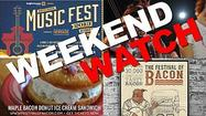 Weekend Watch: Festival of Bacon, Zombietoberfest, Winter Garden Music Fest