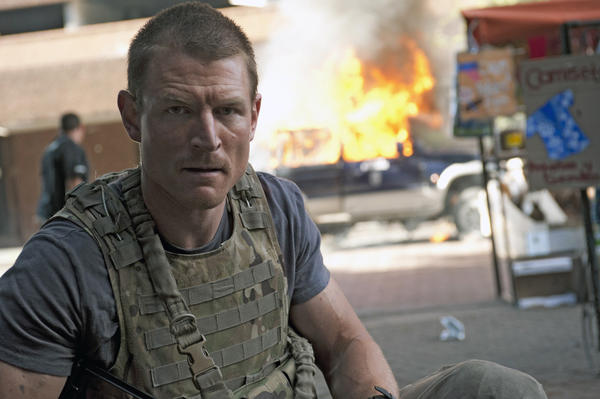 """Strike Back"" star Philip Winchester currently is filming the baseball movie ""Undrafted."""