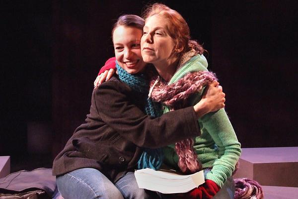 """Melissa Collins, left, and Elizabeth Lande appear in """"Kin."""""""