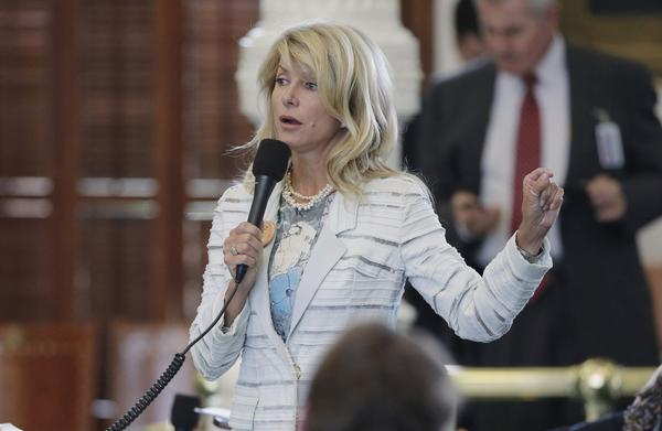Texas state Sen. Wendy Davis became a national political celebrity in June after leading a filibuster that temporarily blocked passage of strict anti-abortion legislation in Texas.