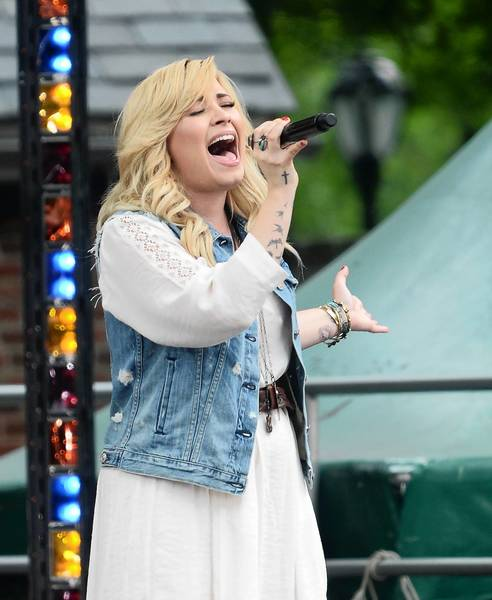 Singer-songwriter Demi Lovato will perform Nov. 3 at House of Blues at Downtown Disney, Lake Buena Vista.