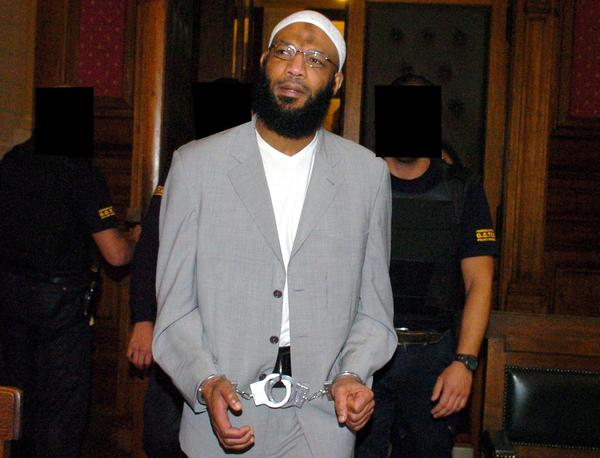 Nizar Trabelsi, seen arriving at the Brussels Palace of Justice in 2004, has been extradited to the United States to face charges of plotting a bomb attack with Al Qaeda.