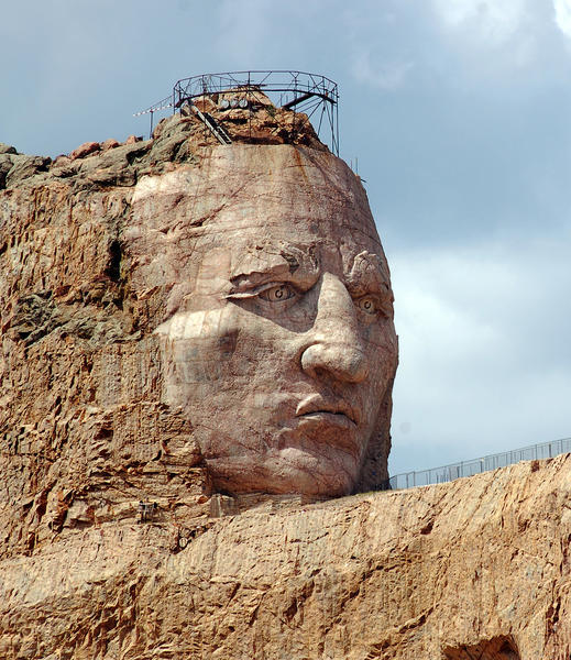 South Dakota: Crazy Horse Memorial