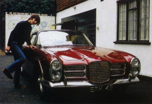 This 1964 Facel Vega Facel II was bought new by Beatles member Ringo Starr in 1964. It has a 6.7-liter Chrysler V-8 engine and is expected to sell for $485,000 to $566,000.