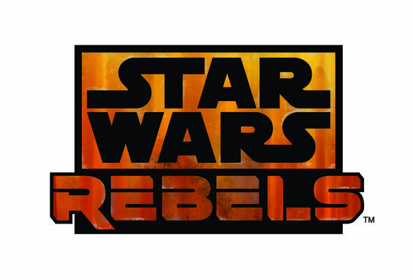 "Here's the logo for the upcoming ""Star Wars Rebels."""