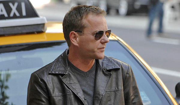 Kiefer Sutherland will be taking Jack Bauer to England.