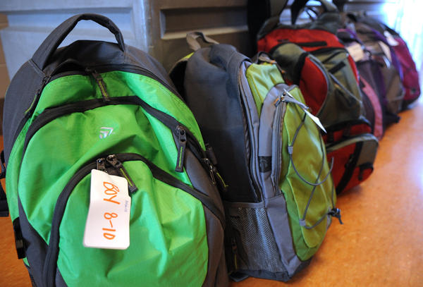 As a safety measure, the Easton Area School District is banning backpacks and large bags at Cottingham Stadium.