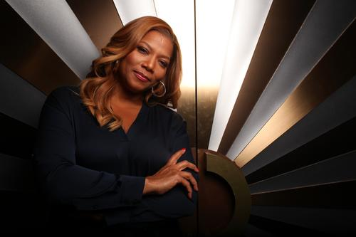 """Queen Latifah is one of the latest black celebrities to join daytime television, with """"The Queen Latifah Show."""" Her first week on the job, Latifah secured Hollywood A-listers such as John Travolta, Jamie Foxx, Sharon Stone, Jake Gyllenhaal and Will Smith."""