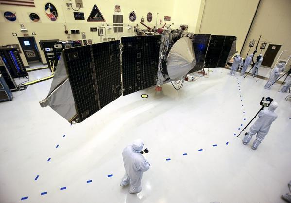 Mars MAVEN mission