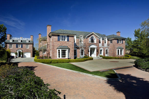 The Georgian-style mansion came on the market in March 2013 at $12.5 million.