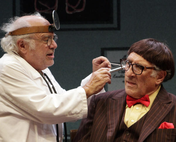 "Danny DeVito and Judd Hirsch star in Neil Simon's ""The Sunshine Boys"" at the Ahmanson Theatre."