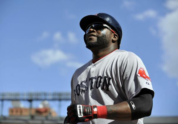 Boston's David Ortiz during a game against the Orioles.