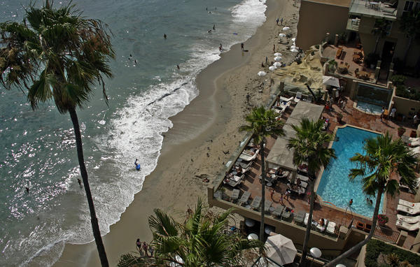 The Surf & Sand Resort in Laguna Beach isn't cheap, but savings can be had with an advance purchase.