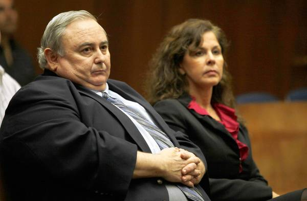 Robert Rizzo and former Assistant City Administrator Angela Spaccia appear in court in January 2012. Rizzo will lhelp authorities establish that Spaccia was the architect of Bell's corruption, Rizzo's attorney said.