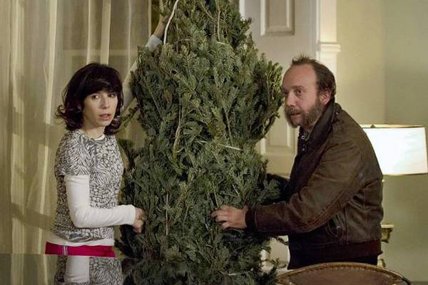 "Sally Hawkins and Paul Giamatti in ""All Is Bright."""