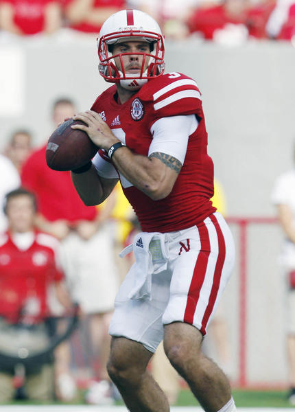 Nebraska quarterback Taylor Martinez looks to pass against Southern Mississippi.