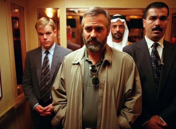 "Clooney's portrayal of CIA agent Bob Barnes in the political thriller earned him a 2006 Oscar for actor in a supporting role, making Clooney a second-generation winner in his family. (Uncle Jose Ferrer won best actor in 1950's ""Cyrano de Bergerac""). Loosely based on former CIA agent Robert Baer and his memories of the Middle East, the tale delves into petroleum politics and the global effect of the oil industry."