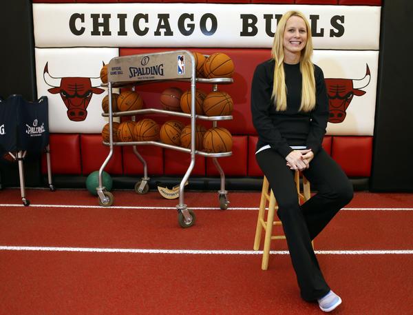 Bulls director of sports performance Jen Swanson.