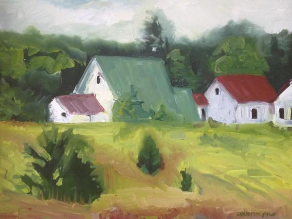 """Work by Chris Rowe of Bliss will be featured in the""""Colors"""" exhibition at Three Pines Studio in Cross Village."""