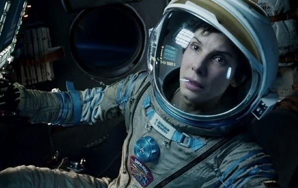 """Gravity"" with Sandra Bullock is expected to take off at the box office."