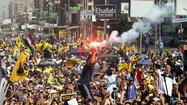 Gunmen attack Egyptian troops; Morsi backers hold protests
