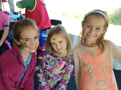 These girls attended last year's Splash event at Charlevoix Area Community pool and even had their faces painted.