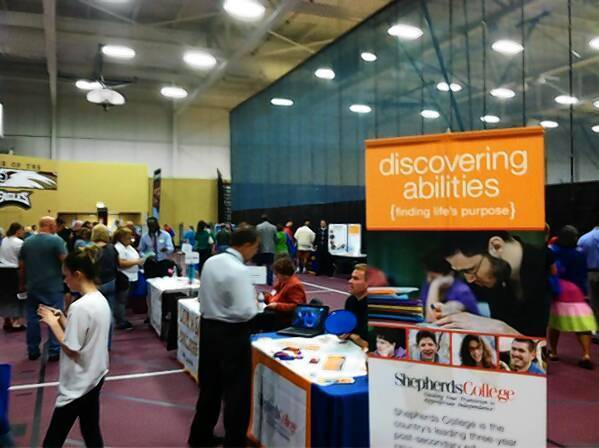 Hundreds attended the Directions college and career fair for students with special needs in Arlington Heights.