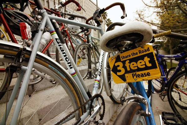 Safety and preparedness are key to enjoyable travel in an urban environment, cyclists say.