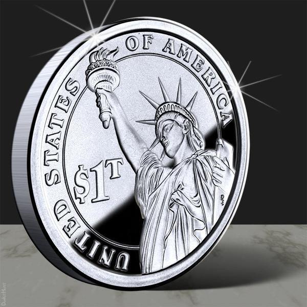 The $1-trillion platinum coin -- still the weirdest solution to the debt-limit crisis.