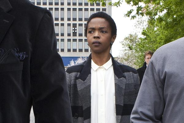 Singer Lauryn Hill, photographed here on April 22, 2013, has been released from federal prison after completing her three-month tax evasion sentence there.